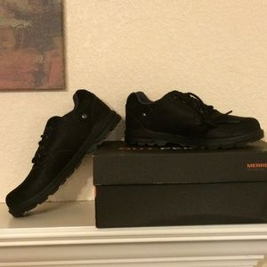 Merrell Brevard Oxford lace-up shoes, NIB, black